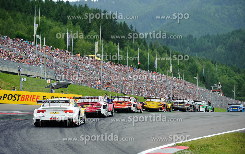03.06.2012, Red Bull Ring, Spielberg, AUT, DTM Red Bull Ring, Renntag, im Bild ein Feature mit Autos, Susie Wolff, (GBR, Persson Motorsport), David Coulthard, (GBR, Muecke Motorsport), Ralf Schumacher, (GER, HWA), Robert Wickens, (CAN, Muecke Motorsport), Augusto Farfus, (BRA, BMW Team RBM)// during the DTM training day on the Red Bull Circuit in Spielberg, 2012/06/03, EXPA Pictures © 2012, PhotoCredit: EXPA/ S. Zangrando