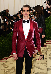 Andrew Garfield attending the Metropolitan Museum of Art Costume Institute Benefit Gala 2018 in New York, USA. PRESS ASSOCIATION Photo. Picture date: Picture date: Monday May 7, 2018. See PA story SHOWBIZ MET Gala. Photo credit should read: Ian West/PA Wire