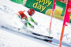 Misel Zerak (SLO) competes in 1st Run during Men Giant Slalom race of FIS Alpine Ski World Cup 55th Vitranc Cup 2015, on March 4, 2016 in Kranjska Gora, Slovenia. Photo by Ziga Zupan / Sportida