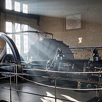 LEMMER - Ir. D.F. Woudagemaal onder stoom en open voor publiek.