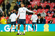 England (10) Ruben Loftus-Cheek during the warm up before Friendly match between England and Germany at Wembley Stadium, London, England on 10 November 2017. Photo by Sebastian Frej.