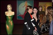 TIPHAINE DE LUSSIS;  NEFER SUVIO, , Allen Jones private view. Royal Academy,  London. 11 November  2014.
