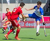 ANTWERPEN -  Scotland-England . Belfius Eurohockey Championship (men) hockey. Phil Roper    COPYRIGHT KOEN SUYK
