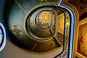 Stairwell Art Nouveau Centre, Riga , Latvia