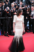 Elodie Bouchez at the On The Road gala screening red carpet at the 65th Cannes Film Festival France. The film is based on the book of the same name by beat writer Jack Kerouak and directed by Walter Salles. Wednesday 23rd May 2012 in Cannes Film Festival, France.