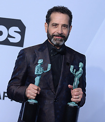25th Annual Screen Actors Guild Awards - Press Room. 27 Jan 2019 Pictured: Tony Shalhoub. Photo credit: MEGA TheMegaAgency.com +1 888 505 6342