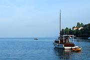 Boats in harbour, Racisce, island of Korcula, Croatia