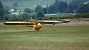 1935 Franklin Glider PS-2 landing at WAAAM.