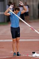 Renaud LAVILLENIE FRA Pole Vault <br /> Roma 04-06-2015 Stadio Olimpico<br /> IAAF Diamond League 2015 Rome<br /> Golden Gala Meeting - Track And Field Athletics Meeting<br /> Foto Sebastian Seglingen / ARK / Insidefoto