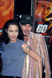 Sep 03, 1997; Hollywood, CA, USA; Actress ANGELINA JOLIE and actor BILLY BOB THORNTON at the premiere of 'Gone in 60 Seconds'.  (Credit Image: © Kathy Hutchins/ZUMAPRESS.com)