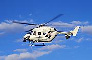 Medivac helicopter.