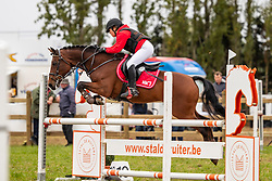 Lamberts Julie, BEL, Ilias van de Vondelhoeve<br /> Nationaal Tornooi LRV Ponies<br /> Zonnebeke 2019<br /> © Hippo Foto - Dirk Caremans<br />  29/09/2019