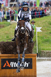 Lynn Symansky, (USA), Donner - Eventing Cross Country test - Alltech FEI World Equestrian Games™ 2014 - Normandy, France.<br /> © Hippo Foto Team - Leanjo de Koster<br /> 31/08/14
