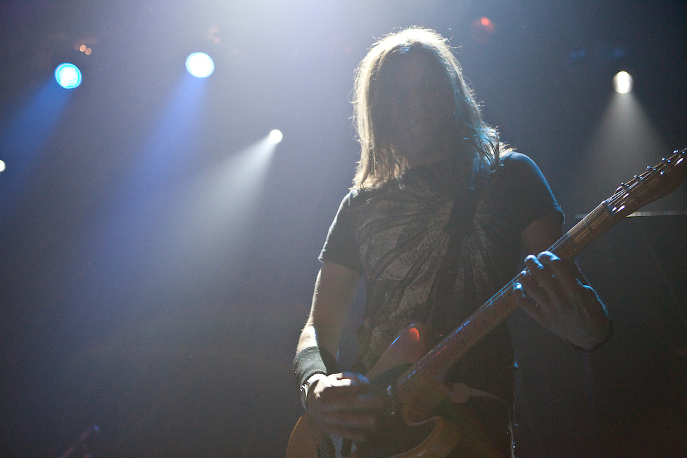 Images of Rock band Dive performing at Blender Theater, NY for Urban Noise: Summerfest.