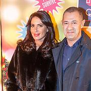 NLD/Amsterdam20151111 - Premiere Priscilla, Queen of the Desert, Roland Kahn en partner Jasmine Surer