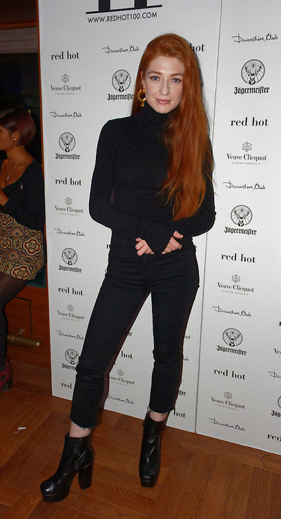 London, United Kingdom - 14 October 2016<br /> Ginger haired Girls Aloud singer Nicola Roberts who modelled for the book. The launch of Red Hot II book, a photographic project by photographer Thomas Knights and creative director Elliott James Frieze celebrating red-heads in support of Diana anti-bullying charity, Devonshire Club, London, England, UK.<br /> www.newspics.com/#!/contact<br /> (photo by: EQUINOXFEATURES.COM)<br /> Picture Data:<br /> Photographer: Equinox Features<br /> Copyright: ©2016 Equinox Licensing Ltd. +448700 780000<br /> Contact: Equinox Features<br /> Date Taken: 20161014<br /> Time Taken: 21305000<br /> www.newspics.com