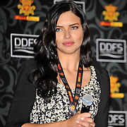 Brazilian model Adriana Lima during their Dosso Dossi Fashion Show 2013 at the Antalya Expo Center in Antalya Turkey on 09 Wednesday, January 2013. Photo by TURKPIX