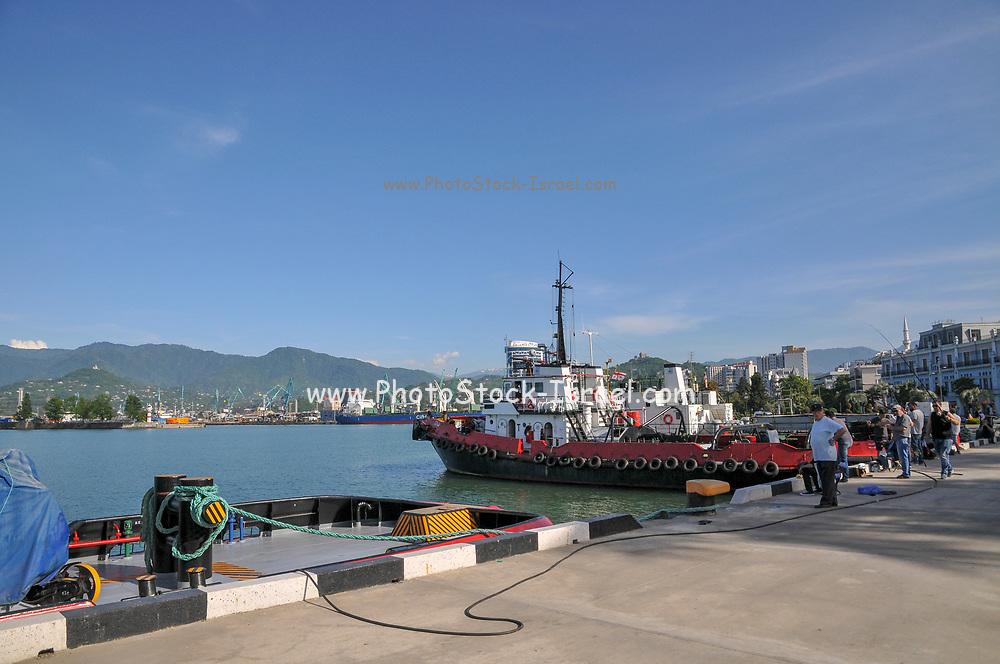 Batumi sea port, Georgia