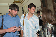 ALEX JAMES; HARLEY GRIFFITHS, Royal Academy Summer exhibition party. Piccadilly. 7 June 2016