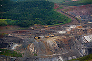 Itabira_MG, Brasil...Vista panoramica da Mina da Conceicao em Itabira, Minas Gerais...The panoramic view of the Conceicao coal mine in Itabira, Minas Gerais...Foto: LEO DRUMOND / NITRO