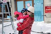 ISABELLA BUNFORD; ISABELLA, Children and Adult ski race in aid of the Knights of Malta,  Furtschellas. St. Moritz, Switzerland. 23 January 2009 *** Local Caption *** -DO NOT ARCHIVE-© Copyright Photograph by Dafydd Jones. 248 Clapham Rd. London SW9 0PZ. Tel 0207 820 0771. www.dafjones.com.<br /> ISABELLA BUNFORD; ISABELLA, Children and Adult ski race in aid of the Knights of Malta,  Furtschellas. St. Moritz, Switzerland. 23 January 2009