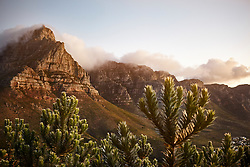 February 2, 2017 - View from Lions Head Mountain to Table Mountain, Western Cape, Cape Town, South Africa, Africa (Credit Image: © Cultura via ZUMA Press)