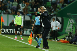 April 22, 2017 - Lisbon, Lisbon, Portugal - Sportings head coach Jorge Jesus from Portugal during Premier League 2016/17 match between Sporting CP and SL Benfica, at Alvalade Stadium in Lisbon on April 22, 2017. (Credit Image: © Dpi/NurPhoto via ZUMA Press)