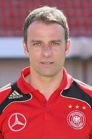 Fotball<br /> Tyskland - Portrett / Portretter<br /> Foto: Witters/Digitalsport<br /> NORWAY ONLY<br /> <br /> 29.05.2008<br /> <br /> Hans-Dieter Flick, Hansi Co-Trainer<br /> Fussball Deutschland DFB