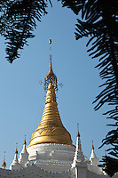 Shwezigone Pagoda is Pyin Oo Lwin's most important temple and pagoda which is also contains a school on its spacious grounds.