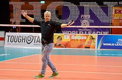20150619 NED: World League Nederland - Portugal, Groningen<br /> De Nederlandse volleyballers hebben in de World League ook hun eerste duel met Portugal met 3-0 gewonnen / John Stubbe
