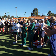 The openeing ceremony of the Individual Championships  during the 2009 ITF Super-Seniors World Team and Individual Championships at Perth, Western Australia, between 2-15th November, 2009.