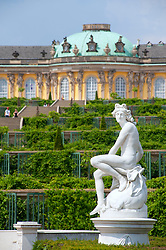 Gardens at Sans Souci in Potsdam Germany
