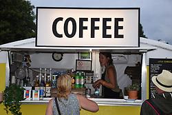 Latitude Festival 2017, Henham Park, Suffolk, UK. Coffee stall