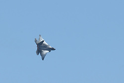 May 4, 2019 - Fort Lauderdale, Florida, United States Of America - FORT LAUDERDALE, FL - MAY 04: U.S. Air Force F-22 Raptor performs in the Fort Lauderdale Air Show on May 4, 2019 in Fort Lauderdale, Florida...People:  U.S. Air Force F-22 Raptor. (Credit Image: © SMG via ZUMA Wire)