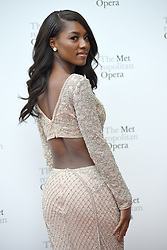 September 24, 2018 - New York, NY, USA - September 24, 2018  New York City..Nia Franklin attending Metropolitan Opera Opening Night at Lincoln Center on September 24, 2018 in New York City. (Credit Image: © Kristin Callahan/Ace Pictures via ZUMA Press)