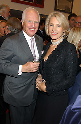 WINSTON & LUCE CHURCHILL at a private view of paintings by Rosita Marlborough (The Duchess of Marlborough) held at Hamiltons gallery, Carlos Place, London W1 on 9th November 2005.<br /> <br /> NON EXCLUSIVE - WORLD RIGHTS