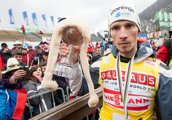 KRANJEC Robert (SLO), overall Skiflying Champion after the Flying Hill Individual competition at 4th day of FIS Ski Jumping World Cup Finals Planica 2012, on March 18, 2012, Planica, Slovenia. (Photo by Vid Ponikvar / Sportida.com)