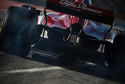 March 7, 2018 - Barcelona, Catalonia, Spain - CHARLES LECLERC (MON) takes to the track in his Alfa Romeo Sauber C37 during day six of Formula One testing at Circuit de Catalunya (Credit Image: © Matthias Oesterle via ZUMA Wire)