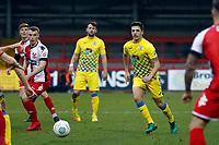 Scott Duxbury. Kidderminster Harriers FC 2-2 Stockport County FC, 13.1.18. Buildbase FA Trophy