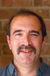 Portrait of man with moustache,