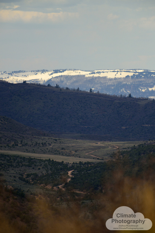 #ThisIsClimateChange<br /> <br /> The Thompson Divide is an area of Colorado that is well known for its wilderness qualities, as well as being used for grazing by local ranchers using public permits.  <br /> <br /> Unfortunately, the oil and gas industry wants to drill there very intensely.  Environmental organizations from national to state to local want the area protected from any drilling.  Drilling, nonetheless, is creeping up the mountain from the west, pictured herein.  Also pictured herein, are areas that don't currently have any development whatsoever.  <br /> <br /> The impacts to the local ecosystems, local economy, and global climate are calculable, and astronomical.  The Thompson Divide Coalition works to negotiate with the companies and state and national political realms to find a way to protect it from any drilling: http://www.savethompsondivide.org/.  Their studies show how much the area already contributes to the economy, for example.  Other environmental organizations are also heavily involved.