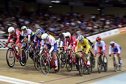 October 21, 2018 - St Quentin En Yvelines, France - illustration - Omnium femmes - course Scratch (Credit Image: © Panoramic via ZUMA Press)