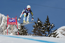 19.01.2013, Olympia delle Tofane, Cortina d Ampezzo, ITA, FIS Weltcup Ski Alpin, Abfahrt, Damen, im Bild Julia Mancuso (USA) // Julia Mancuso of the USA in action during the ladies Downhill of the FIS Ski Alpine World Cup at the Olympia delle Tofane course, Cortina d Ampezzo, Italy on 2013/01/19. EXPA Pictures © 2013, PhotoCredit: EXPA/ Johann Groder
