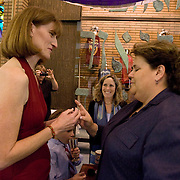 Nicole Bauer and Susan Cohen wed in Temple Judea hours before the polls close in California where voters were deciding on Proposition 8, a ban on gay marriage.
