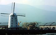 The Jeanie Johnston ship under construction in the early stages in 1997 at Blennerville, Tralee..Picture by Don MacMonagle