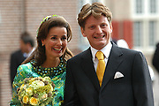 His highness prince Pieter-Christiaan of Oranje Nassau, of Vollenhoven and Ms drs. A.T. van Eijk get married Thursday 25 augusts in Palace the Loo in apeldoorn.<br />