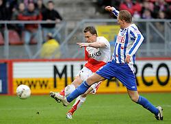 13-01-2008 VOETBAL: FC UTRECHT - HEERENVEEN: UTRECHT<br /> Na een enerverende wedstrijd moesten FC Utrecht en SC Heerenveen genoegen nemen met een puntendeling: 2-2 / Tim Cornelisse <br /> ©2008-WWW.FOTOHOOGENDOORN.NL