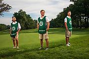 Evan Scholar Caddies photographed at Olympia Fields CC on August 13, 2020<br /> WGAESF/Charles Cherney Photography