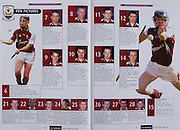 All Ireland Senior Hurling Championship - Final,.11.09.2005, 09.11.2005, 11th Septemeber 2005,.Minor Galway 3-12, Limerick 0-17,.Senior Cork 1-21, Galway 1-16,.11092005AISHCF,.