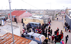 South Africa - Cape Town - 16 - September - 2020 Angry Samora Machel residents  march against Gender Based Violance in Philippi after Ntombizandile Mdutyini was stabbed to death and her partially burnt body found dumped in a dustbin in Siqalo informal settlement. Photographer Ayanda Ndamane African News Agency(ANA)